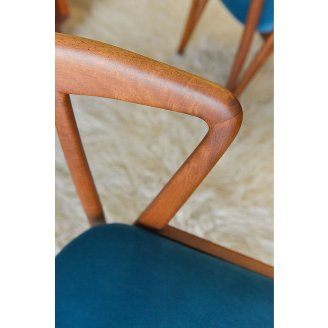 Vintage Bertha Schaefer/Gio Ponti Chairs - A Pair For Sale In Los Angeles - Image 6 of 7