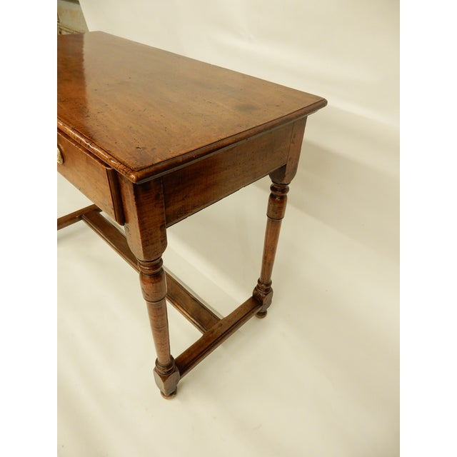 Traditional Early 19th Century Italian Walnut Side Table/Console For Sale - Image 3 of 7