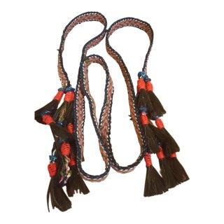 Vintage Hand Woven Kuwaiti Bedouin Camel Rope