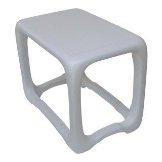 Vintage Karl Springer Style Side Table