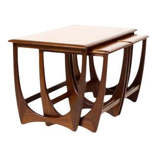 Danish Modern G-Plan Teak Nesting Tables - Set of 3 For Sale