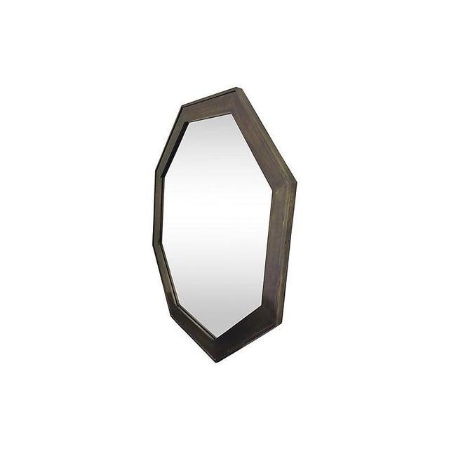 1960s John Widdicomb Bronze Mirror For Sale - Image 5 of 6