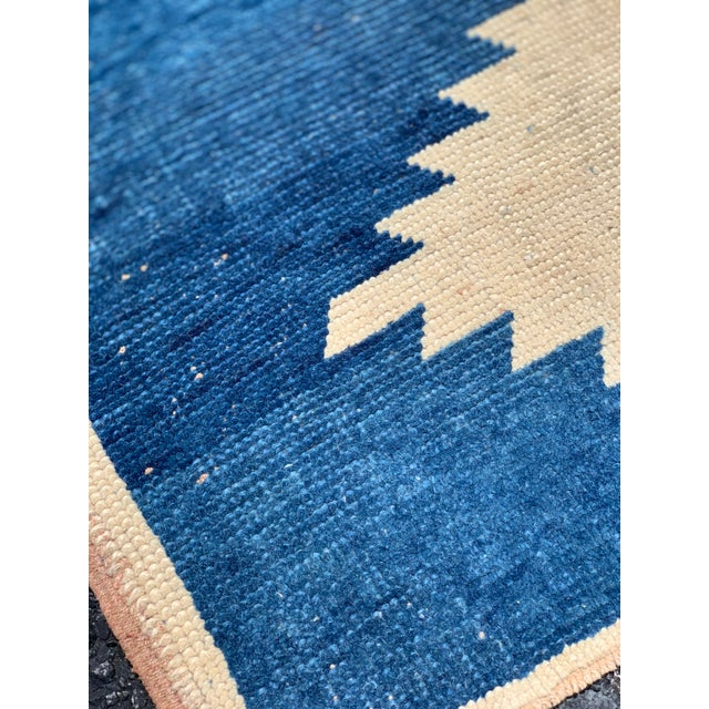 1950's Vintage Persian Gabbeh Tribal Rug- 3′1″ × 5′9″ For Sale - Image 4 of 11