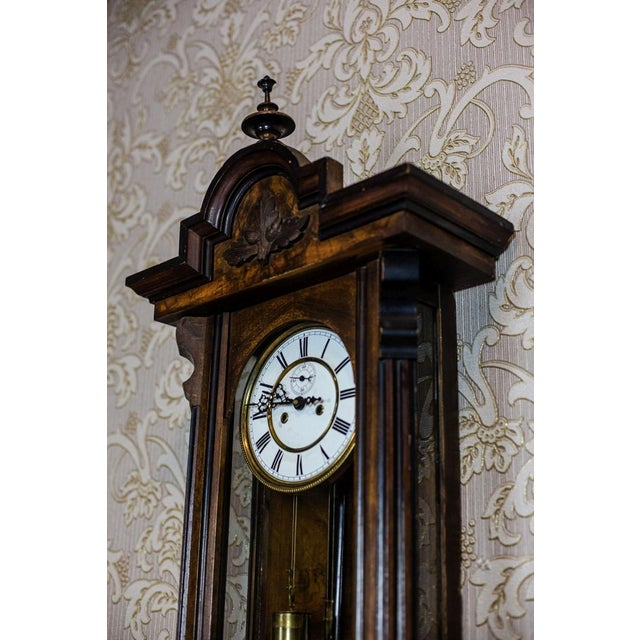 19th-Century Wall Clock For Sale - Image 6 of 13