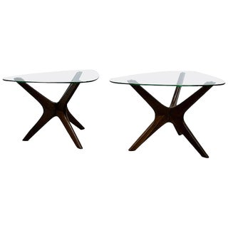 """1960s Adrian Pearsall """"Jack"""" Side Tables for Craft Associates - a Pair For Sale"""
