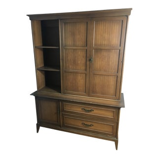 Mid Century Broyhill Premier Division Display Hutch For Sale