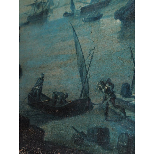 18th Century French Trumeau with Grisaille Painting - Image 7 of 8