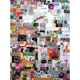 "Urso Colorful Contemporary Collage ""On Tv"""