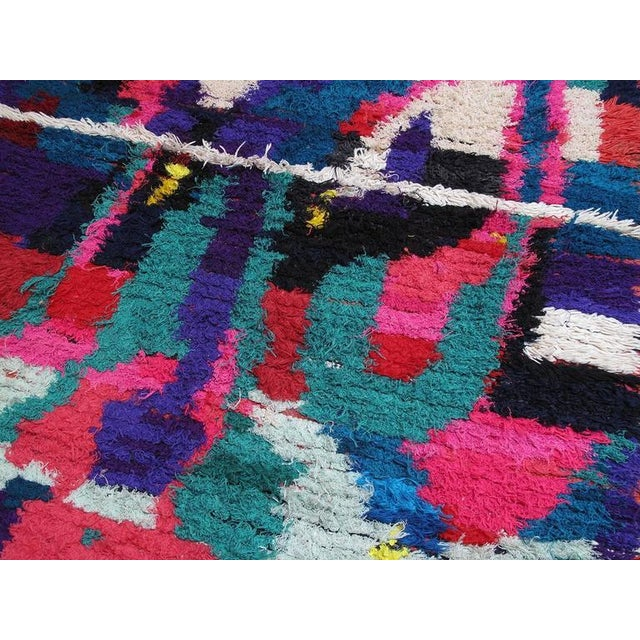 Azilal Moroccan Berber Rug For Sale - Image 4 of 8