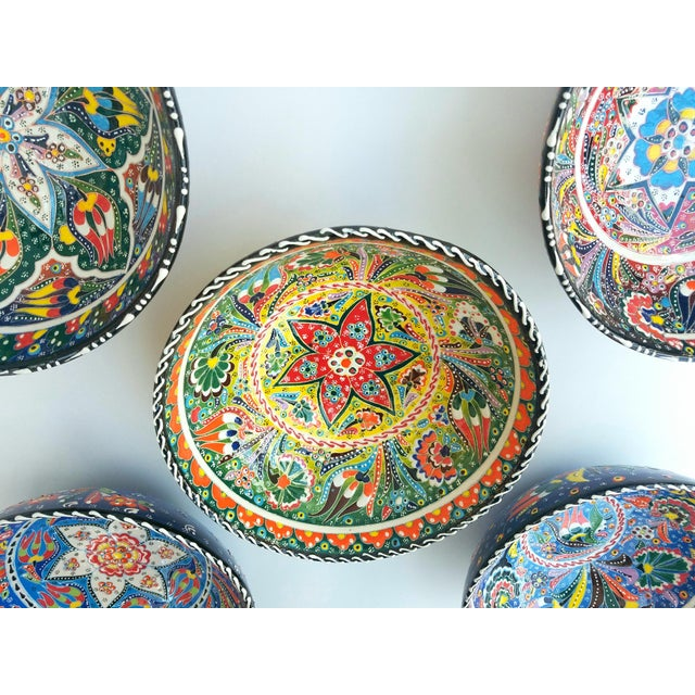 Turkish Anatolian Bowls - Set of 5 - Image 4 of 6