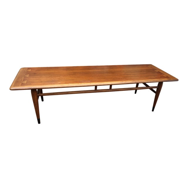 Mid-Century Lane Acclaim Dovetail Coffee Table - Image 1 of 7