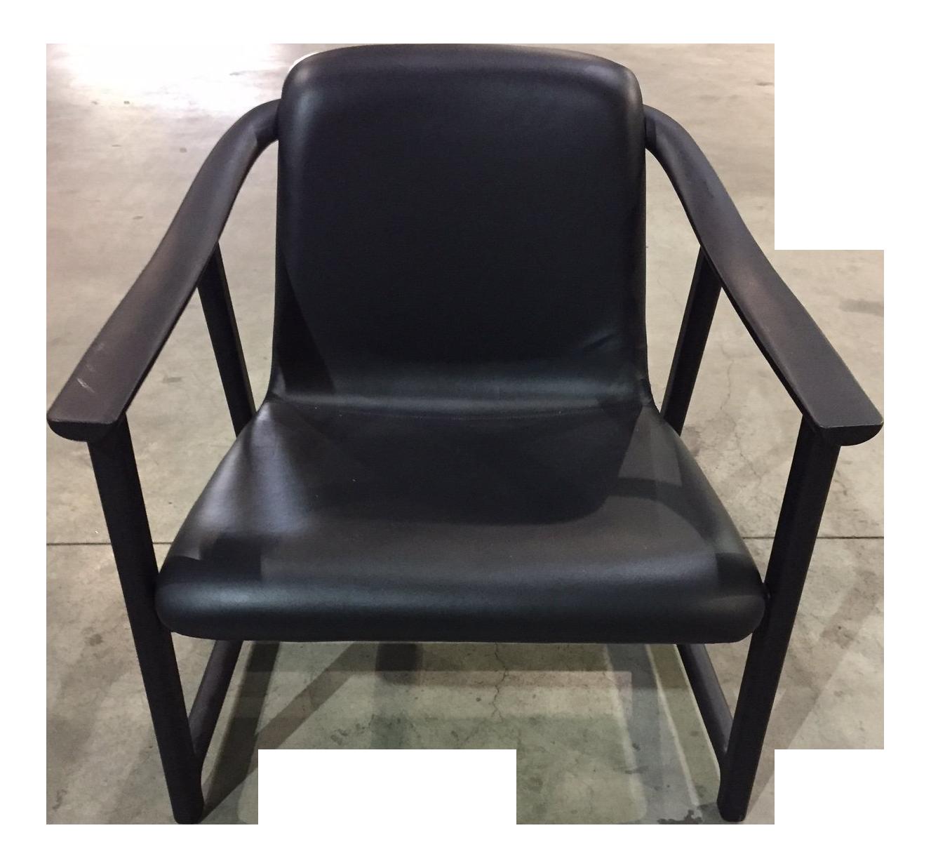 Neri U0026 Hu Stellar Works Mandarin Black Lounge Chair