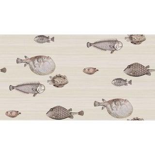 Transitional Cole & Son Fornasetti Acquario Wallpaper For Sale