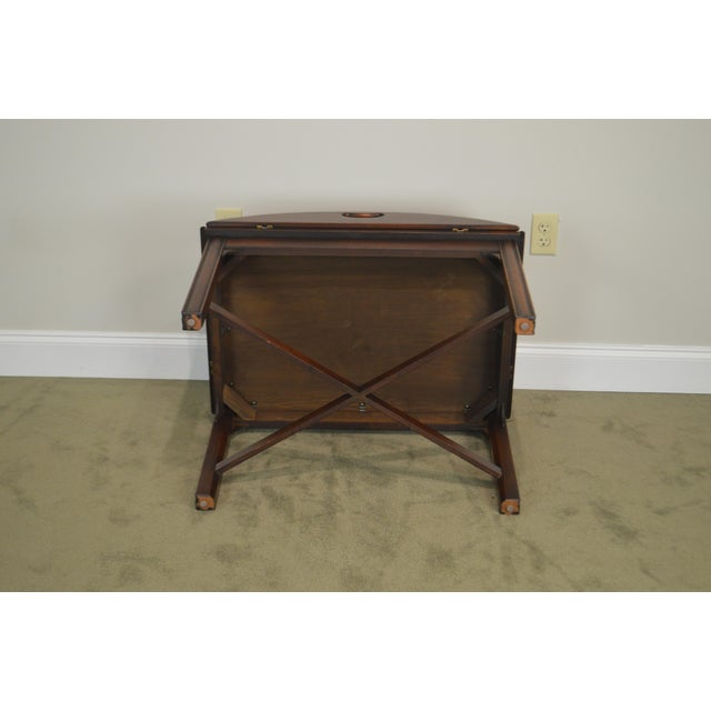 Chippendale Style Mahogany Butlers Coffee Table For Sale - Image 9 of 13