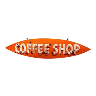 "Neon Sign ""Coffee Shop"", 1950s For Sale"