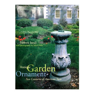 """Antique Garden Ornament""-Barbara Israel-Abrams Publishing For Sale"