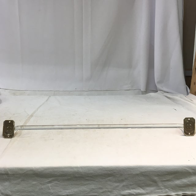 Vintage Lucite Towel Bar With Chrome-Plated Hardware For Sale In Washington DC - Image 6 of 13