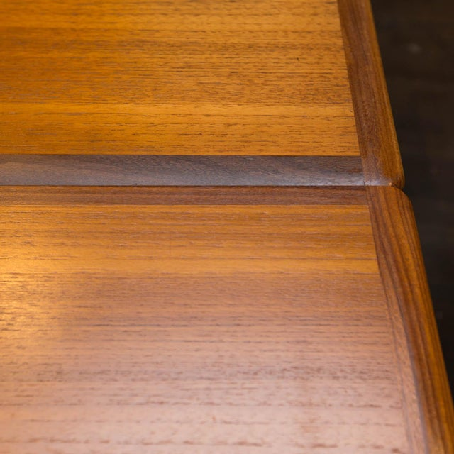 Bernhard Pedersen & Son Bernhard Pedersen & Son Teak & Walnut Extension Table For Sale - Image 4 of 6