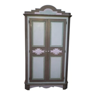 Maurice Villency Southwestern Armoire For Sale