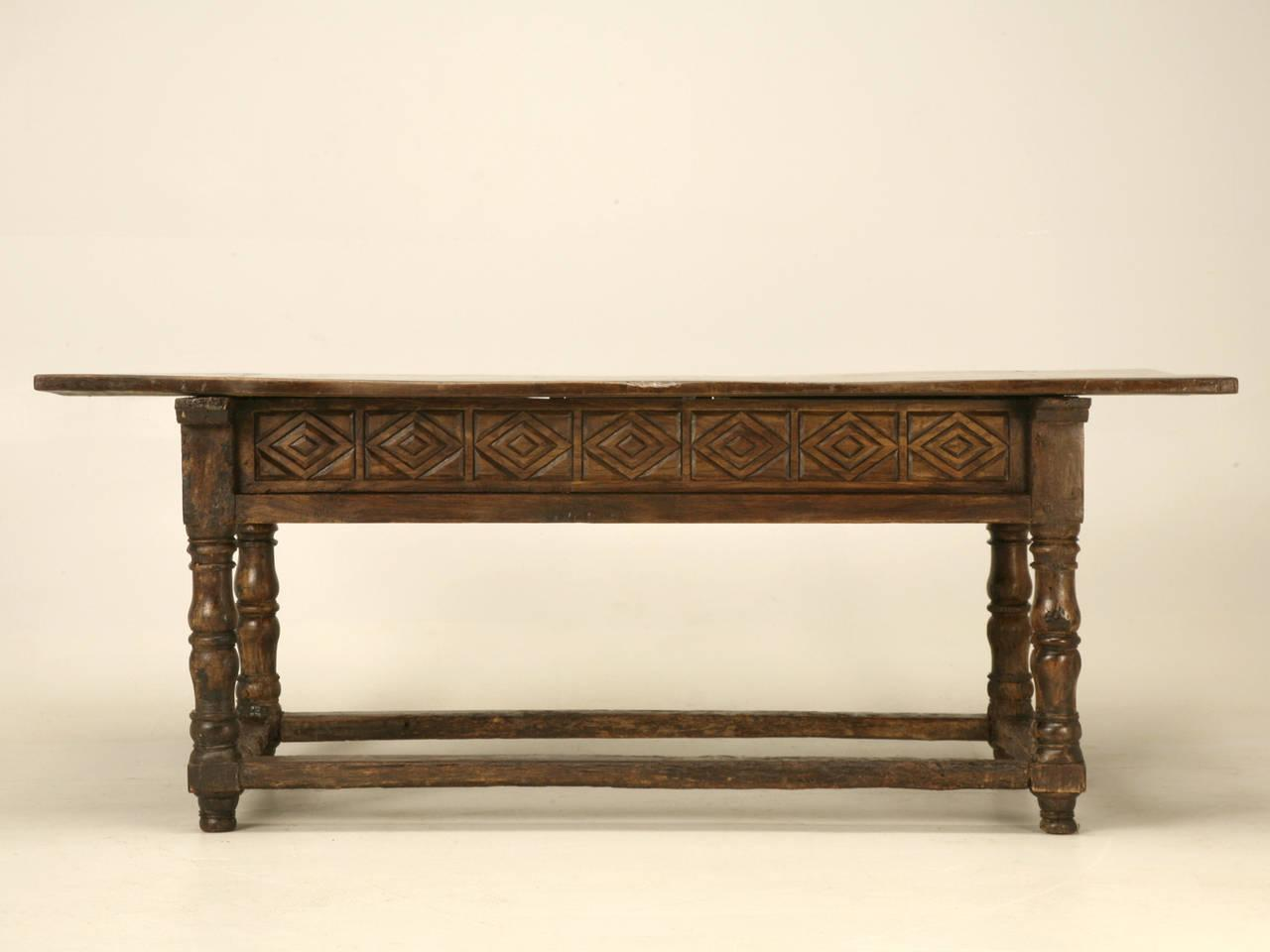 Antique Spanish Colonial Table For Sale   Image 4 Of 10