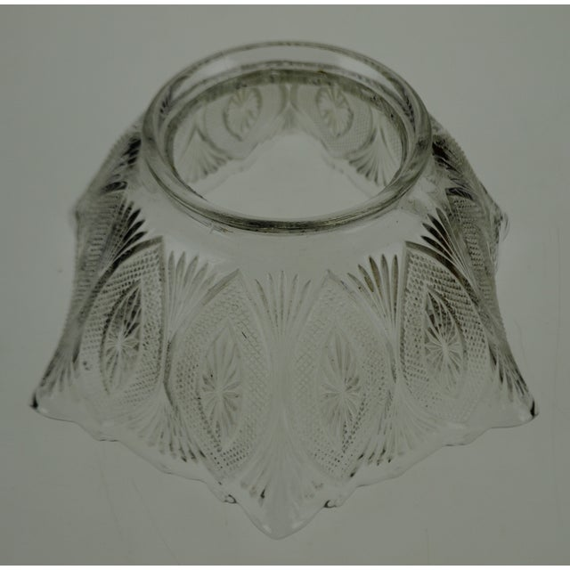 Victorian Style Pressed Glass Gas Light Shade For Sale - Image 12 of 13
