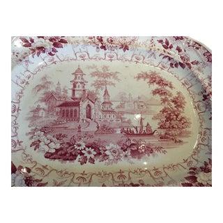 19th Century Staffordshire Platter