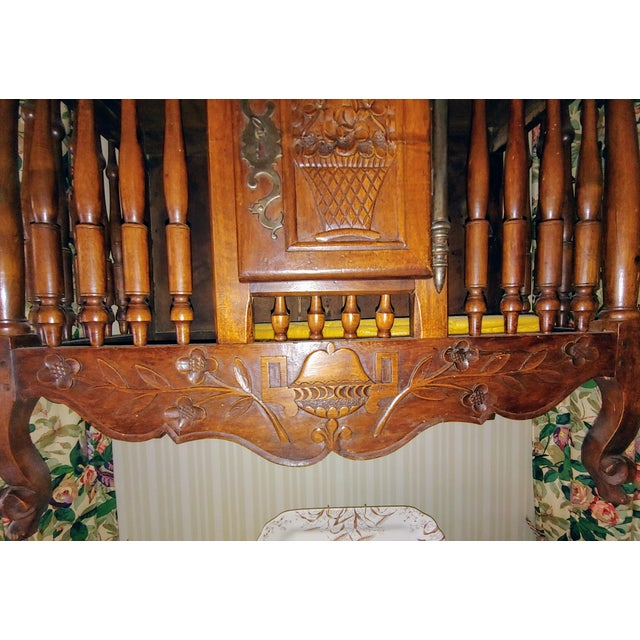 Antique French Walnut Panatier For Sale - Image 4 of 7