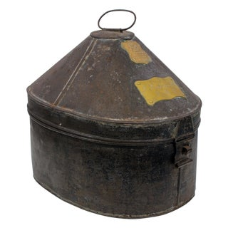 British Army Edwardian Hat Case