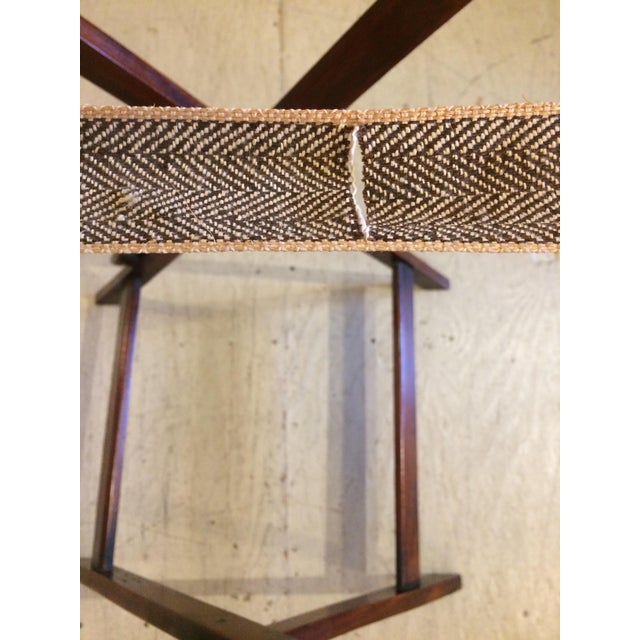 English Traditional Mahogany Butler's Tray Table For Sale - Image 9 of 11