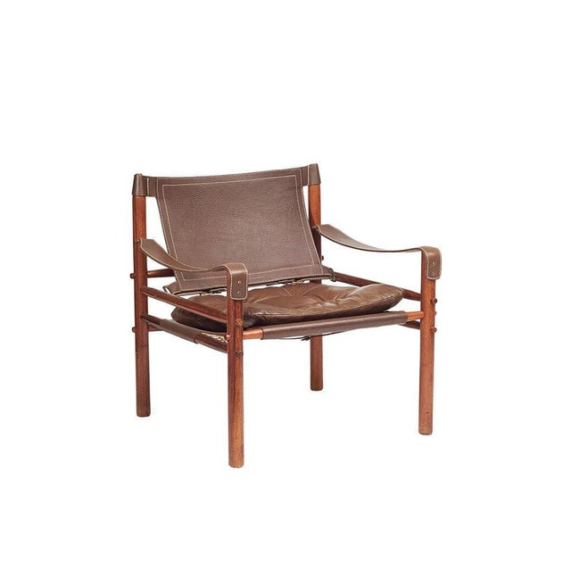 Arne Norell Safari Chairs - A Pair - Image 3 of 8