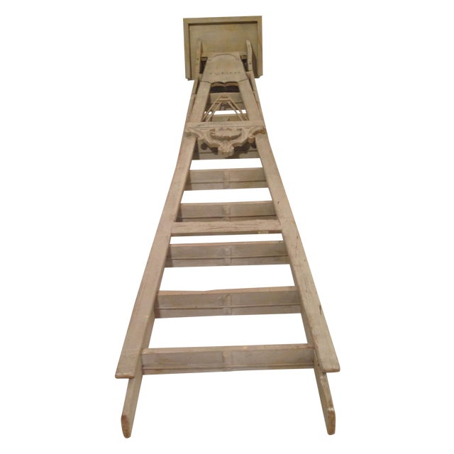 19th Century 10-Step French Artist Ladder - Image 1 of 6