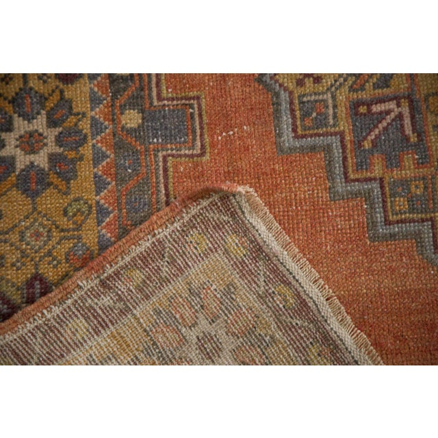 "Vintage Distressed Oushak Rug - 3'9"" x 6'6"" - Image 8 of 11"