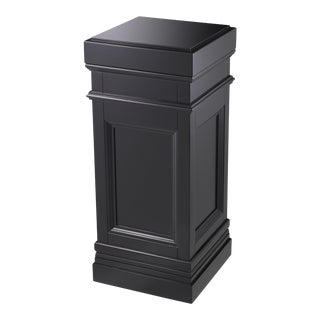 Black Wooden Column | Eichholtz Marceau For Sale