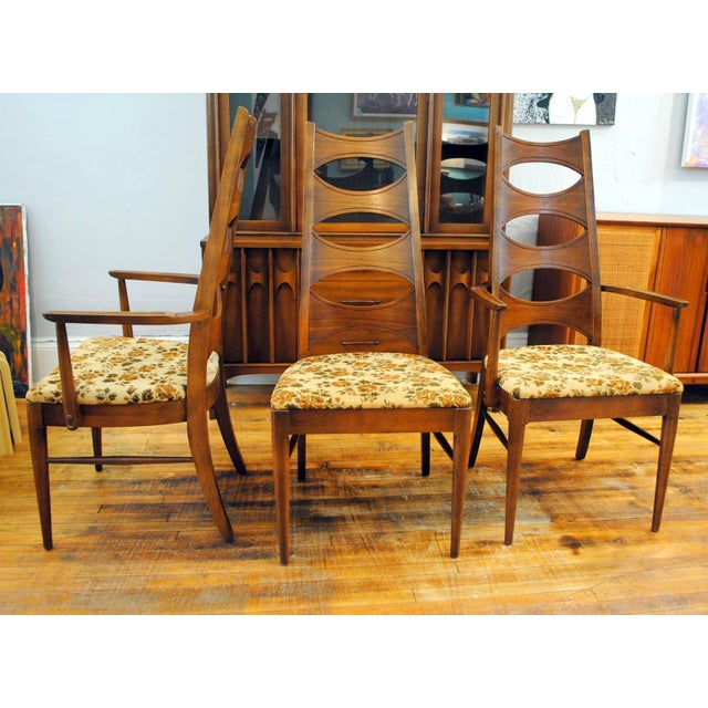 Kent Coffey Mid-Century Perspecta Dining Chairs - Set of 8 - Image 6 of 11