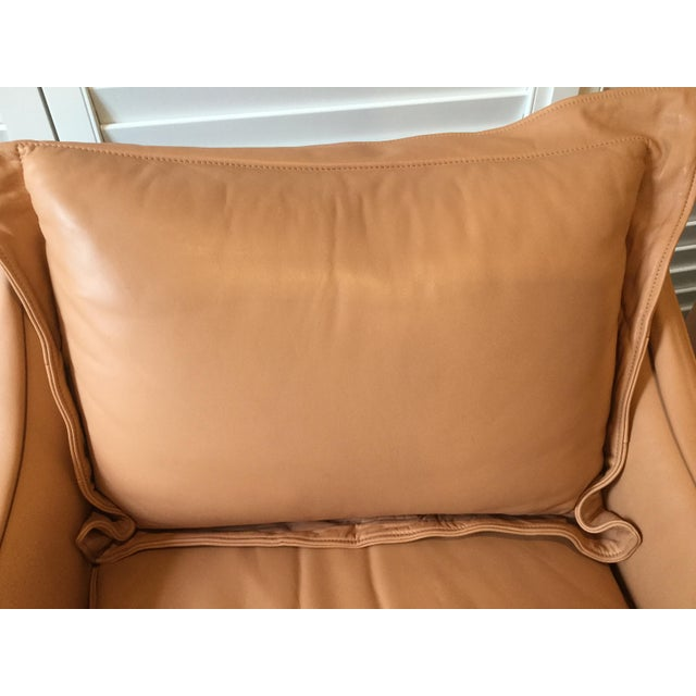 1990s Vintage Leather Chairs- a Pair For Sale - Image 10 of 13