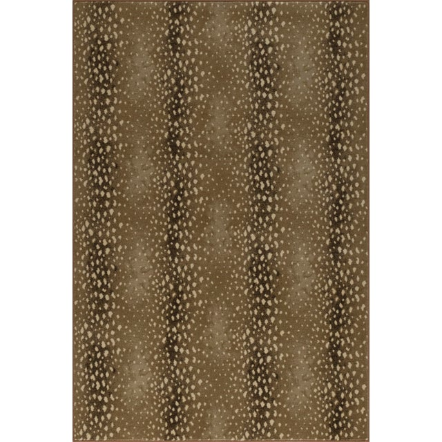 "2010s Stark Studio Rugs Deerfield Sand Rug - 2'2"" X 7'8"" For Sale - Image 5 of 5"