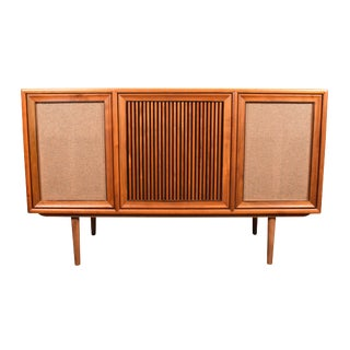 Vintage Kipp Stewart for Drexel and Motorola Mid-Century Modern Stereo Console