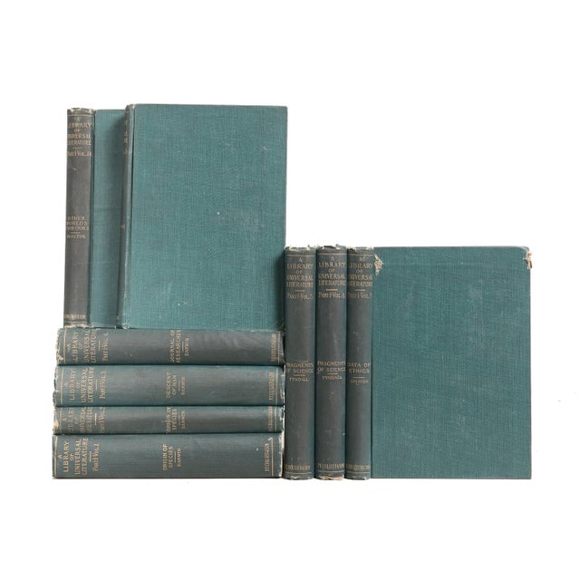 Green Scientific Reference Library - Set of 9 - Image 1 of 2