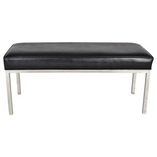 Modern Chrome Bench For Sale