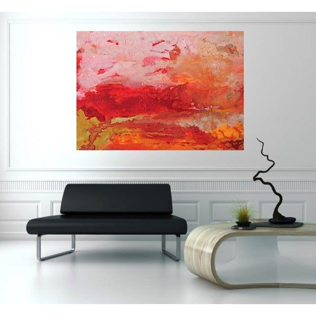Bryan Boomershine Summer Heat Painting - Image 2 of 3