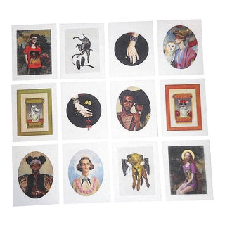 Gucci Illustration Art-Lithographs by Ignase Monreal-Set of 12 For Sale