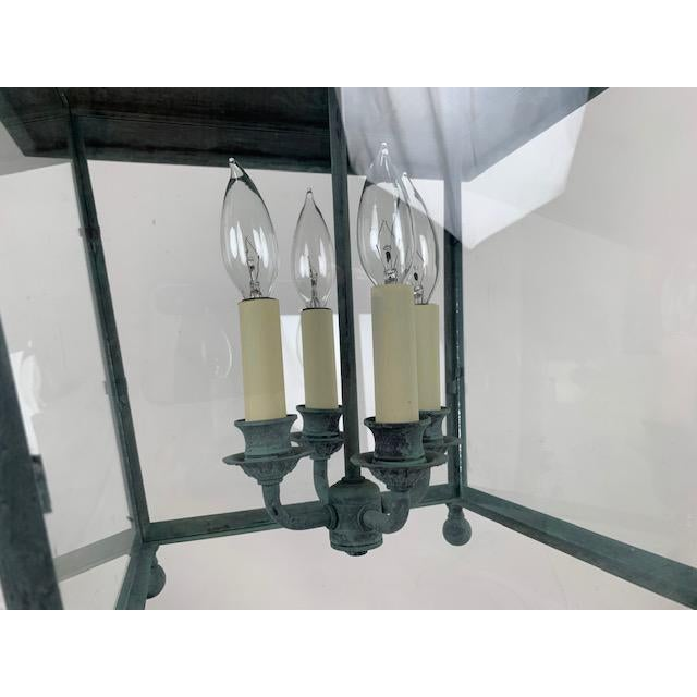 Single 4 Light Lantern by Genie House For Sale - Image 4 of 9