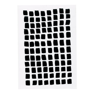 ModernBlack and White Contemporary Minimal Drawing For Sale