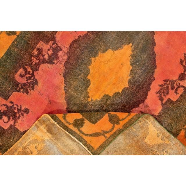 "Apadana - Vintage Overdyed Rug, 9'4"" X 12'6"" For Sale - Image 4 of 7"