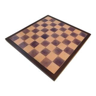 Paolo De Poli Enamel Chessboard For Sale