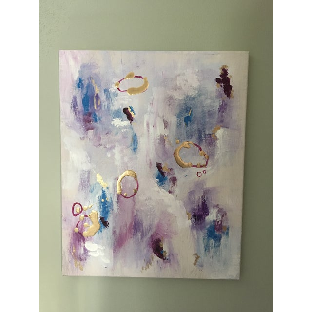 Original Abstract Painting - Image 2 of 3