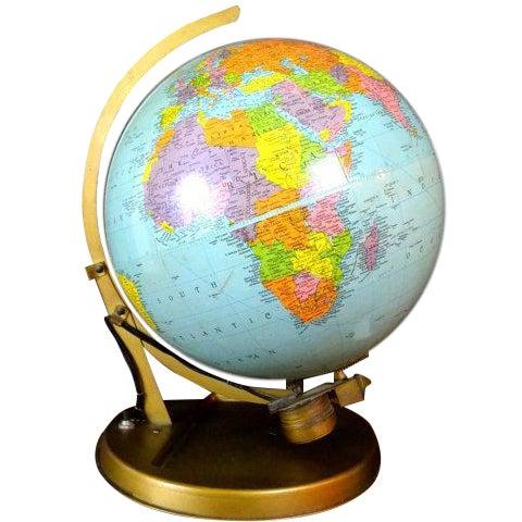 1957 Mechanical Satellite Orbit Demonstrator Globe - Image 1 of 5