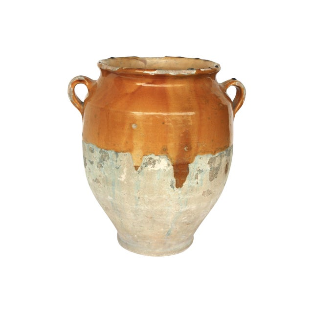 French Provence Terracotta Confit Pot - Image 1 of 6