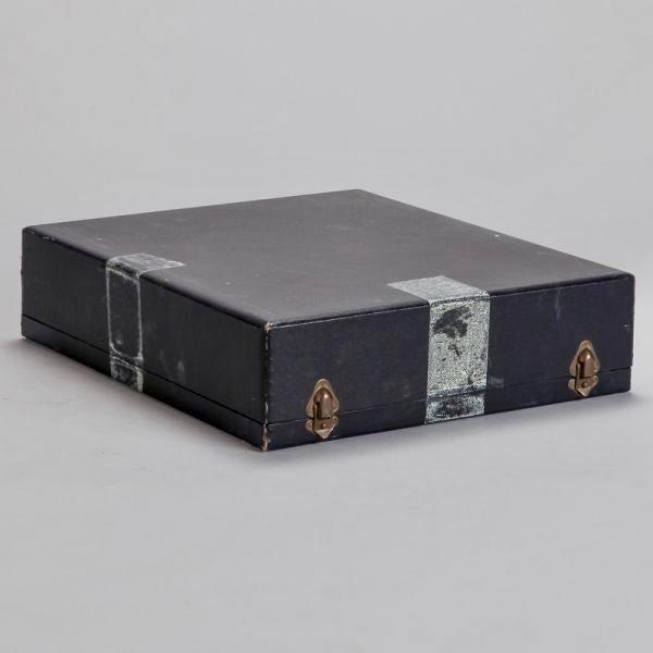 Le Tallec of Paris Gilded Porcelain Serving Set in Presentation Box - Image 10 of 10