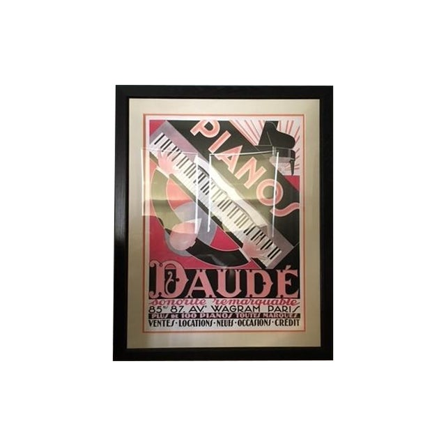 Pianos Daude Print For Sale
